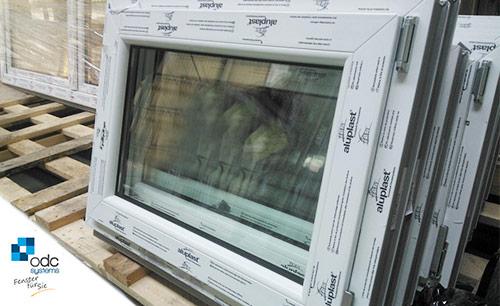 Kunststofffenster pvc fenster 700 mm x 500mm dreh kipp - Fenster schallschutzklasse 6 ...