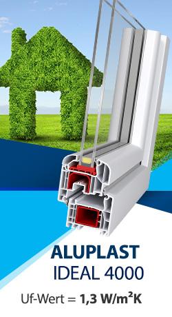 Rundfenster 550 mm wei fest pvc fenster kunststoff veka for Kunststoff fensterscheiben