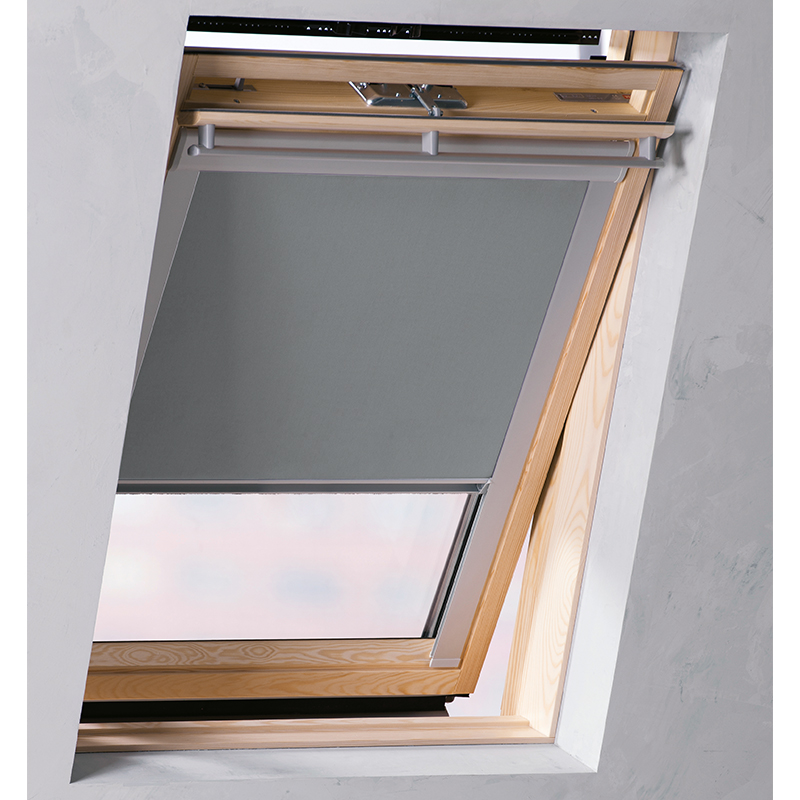 Blackout thermal roller roof skylight blinds for all velux for Velux window shades