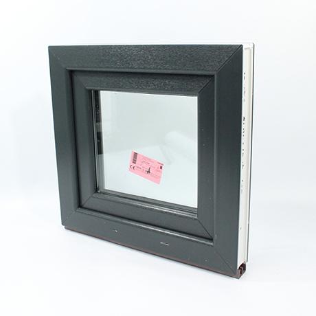 Fenster anthrazit  1-Flügler PVC Fenster Anthrazit Farbe Aussen Breite ab 90cm / 900 ...