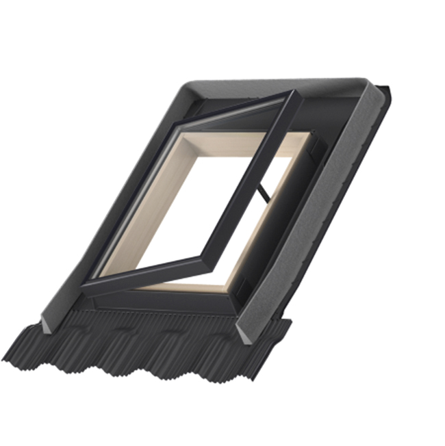 lucernario velux velta con raccordo apertura al esterno