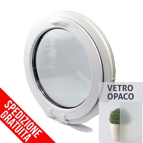 Finestre in PVC oblo VEKA Perfectline 70 VASISTAS col. BIANCO! VETRO OPACO  ...