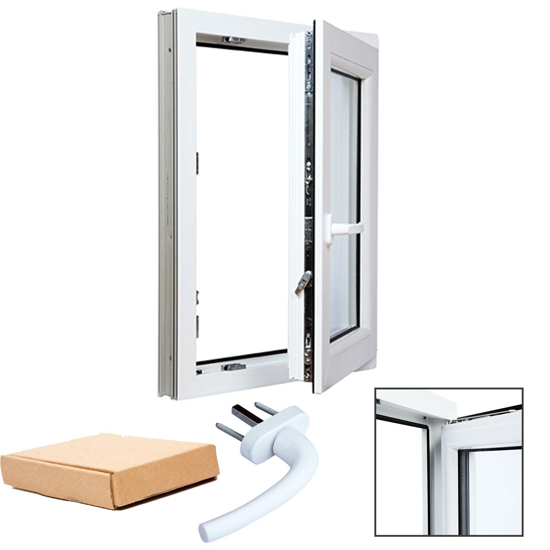 Finestre in pvc bianco aluplast 4000 vetro basso emissivo varie misure per te ebay - Finestre pvc misure standard ...