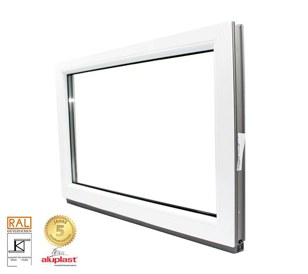 Kellerfenster festelement kunststofffenster festverglasung for Fenster 2fach oder 3fach verglasung