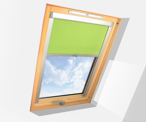 sonnenschutz a2 f r die fenster velux rollo 3 farben ebay. Black Bedroom Furniture Sets. Home Design Ideas