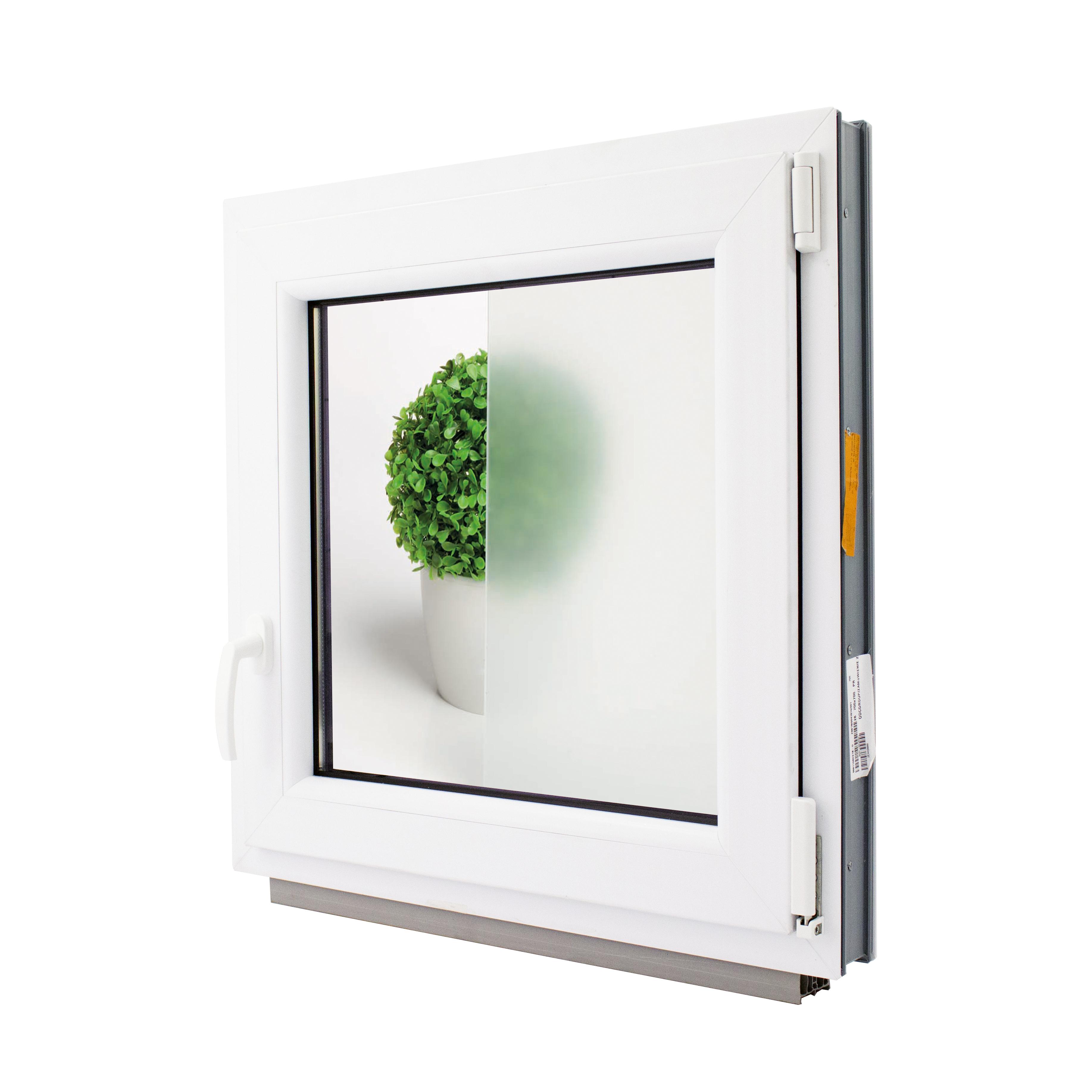 Tende Per Finestre A Ribalta dettagli su finestre pvc anta ribalta vetro opaco per bagno larghezza:  500mm varie altezze